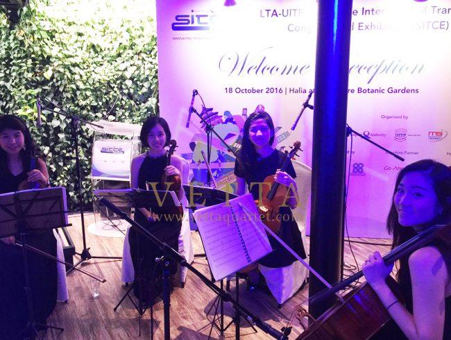 SITCE Welcome Reception at Villa Halia, Botanic Gardens