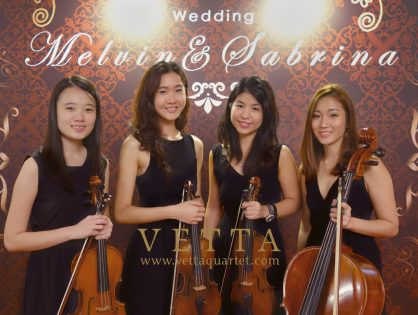 Melvin & Sabrina's Wedding at Shangri-La Hotel