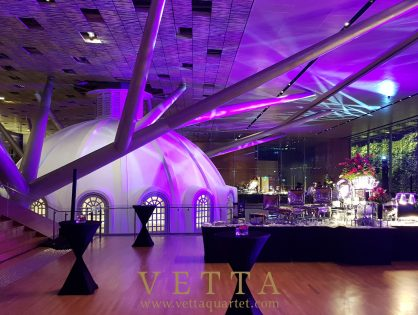 Corporate event at National Gallery Singapore