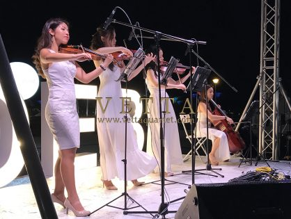 ESTA Quartet at Diner en Blanc 2018